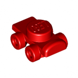LEGO 6177500 PATIN A ROULETTES / ROLLER SKATE - ROUGE