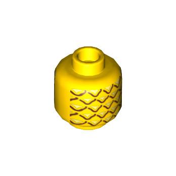 LEGO 6055385 PINEAPPLE - YELLOW