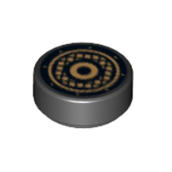 LEGO  6172764 IMPRIME ROND 1X1 - NOIR lego-6284073-imprime-rond-1x1-noir ici :