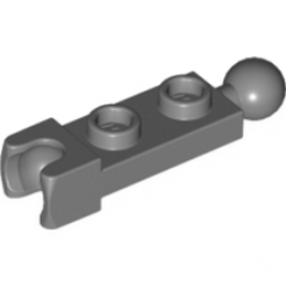 LEGO 6039482 	PLATE 1X2 BALL Ø5.9/CUP/FRICTION - Dark Stone Grey