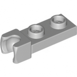 6043639	PLATE 1X2 BALL CUP / FRICTION END - Medium Stone Grey