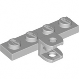 LEGO 4667166	PLATE 1X4 W. BALL SOCKET - Medium Stone Grey