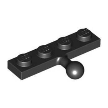 LEGO 4516020 COUPLING PLATE 1X4 W. BALL - NOIR lego-4516020-coupling-plate-1x4-w-ball-noir ici :