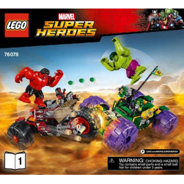 Notice / Instruction Lego Super Heroes 76078