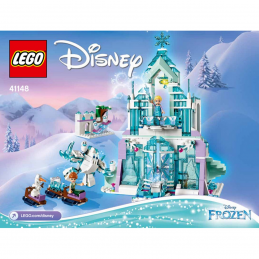 Notice / Instruction Lego Disney Princess - 41148