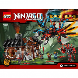 Notice / Instruction Lego Ninjago 70627