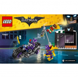 Notice / Instruction Lego  The Batman Movie 70902