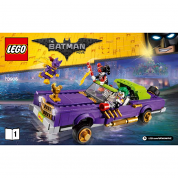 Notice / Instruction Lego  The Batman Movie 70906