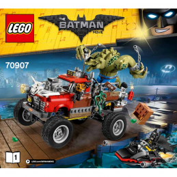 Notice / Instruction Lego  The Batman Movie 70907