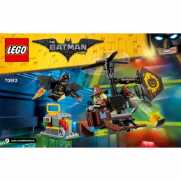 Notice / Instruction Lego  The Batman Movie 70913