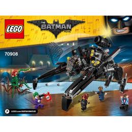 Notice / Instruction Lego  The Batman Movie 70908