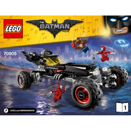 Notice / Instruction Lego  The Batman Movie 70905