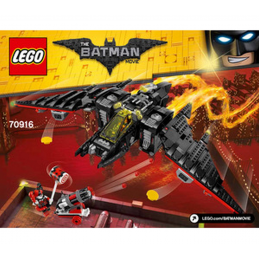 Notice / Instruction Lego  The Batman Movie 70916