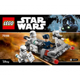 Notice / Instruction Lego Star Wars 75166