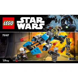 Notice / Instruction Lego Star Wars 75167