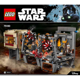 Notice / Instruction Lego Star Wars 75180