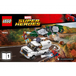 Notice / Instruction Lego Super Heroes 76083