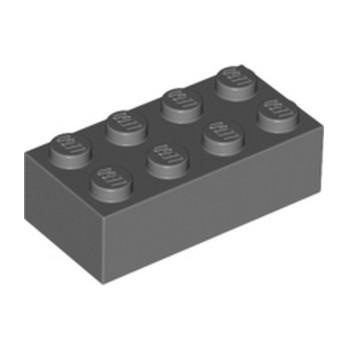 LEGO 4211085 BRICK 2X4 - DARK STONE GREY