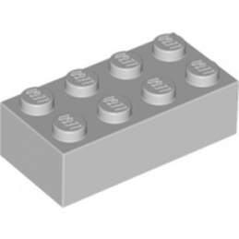 LEGO 4211385 BRICK 2X4 - MEDIUM STONE GREY