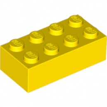 LEGO 300124 BRICK 2X4 - YELLOW