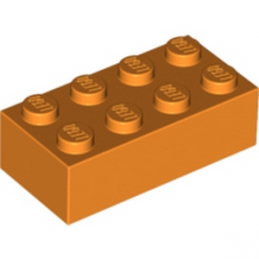 LEGO 3001106 Brique 2X4 - Orange