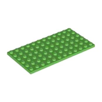 LEGO 4541414 - PLATE 6X12 - Vert Médium