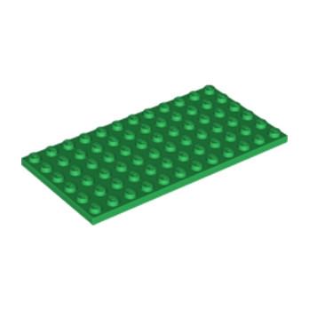 LEGO 6177783 PLATE 6X12 - DARK GREEN