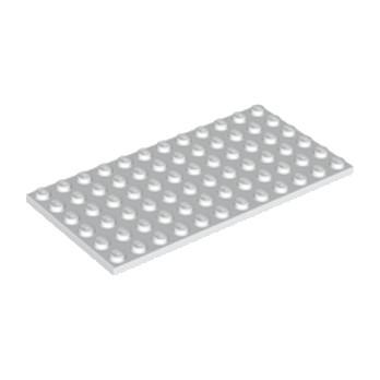 LEGO 302801 PLATE 6X12 - BLANC