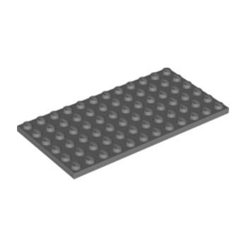 LEGO 4210657PLATE 6X12 - Dark Stone Grey