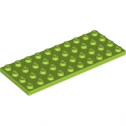 LEGO 6112967 - PLATE 4X10 - Bright yellowish green