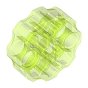 LEGO 4651747 - WEAPON BARREL   - Jaune Fluo Transparent