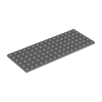 LEGO 4226358  PLATE 6X16 - Dark Stone Grey