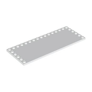 LEGO 6186682 PLATE 6X16 W. 26 KNOBS - BLANC