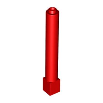 LEGO 4179577 COLONNE 1X1X6 - ROUGE