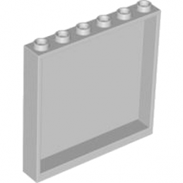 LEGO 4527174  MUR / CLOISON 1X6X5 - MEDIUM STONE GREY