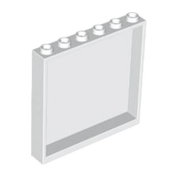 LEGO 4504228 MUR / CLOISON 1X6X5 - BLANC