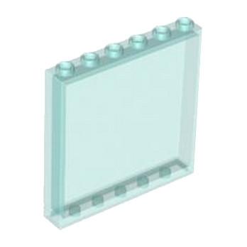 LEGO 4505000  MUR / CLOISON 1X6X5 - BLEU TRANSPARENT