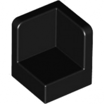 LEGO 4101709WALL CORNER 1X1X1 - NOIR
