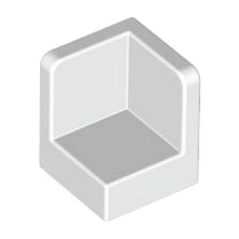LEGO 623101WALL CORNER 1X1X1 - BLANC