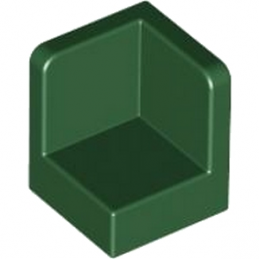 LEGO 4528712	WALL CORNER 1X1X1 - Earth Green
