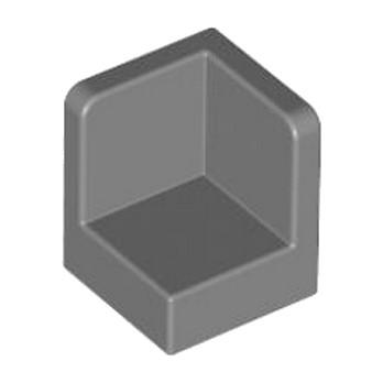LEGO 6025235 WALL CORNER 1X1X1 - DARK STONE GREY