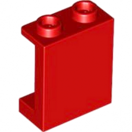 LEGO 4570470 	WALLELEMENT 1X2X2 - ROUGE