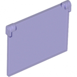 LEGO 6170921 GLASS FOR FRAME 1X4X3 - Violet Transparent