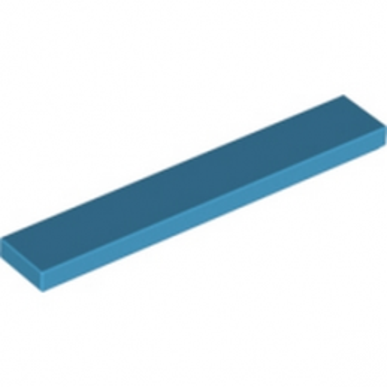 LEGO 6164336 PLATE LISSEE 1X6 - Dark Azur