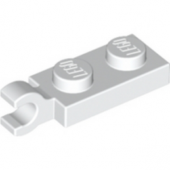 LEGO 6361170 PLATE 2X1 W/HOLDER,VERTICAL - WHITE
