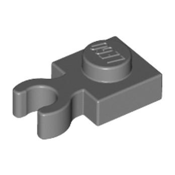 LEGO 4210632 PLATE 1X1 W. HOLDER - Dark Stone Grey