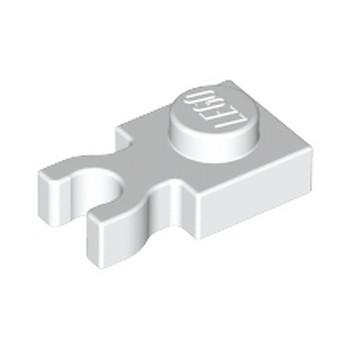 LEGO 408501 PLATE 1X1 W. HOLDER - BLANC