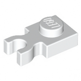 LEGO 6330191 PLATE 1X1 W. HOLDER - WHITE