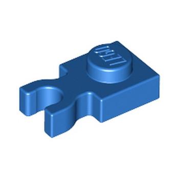 LEGO  408523  PLATE 1X1 W. HOLDER - BLEU