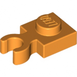 LEGO 4587052  PLATE 1X1 W. HOLDER - ORANGE